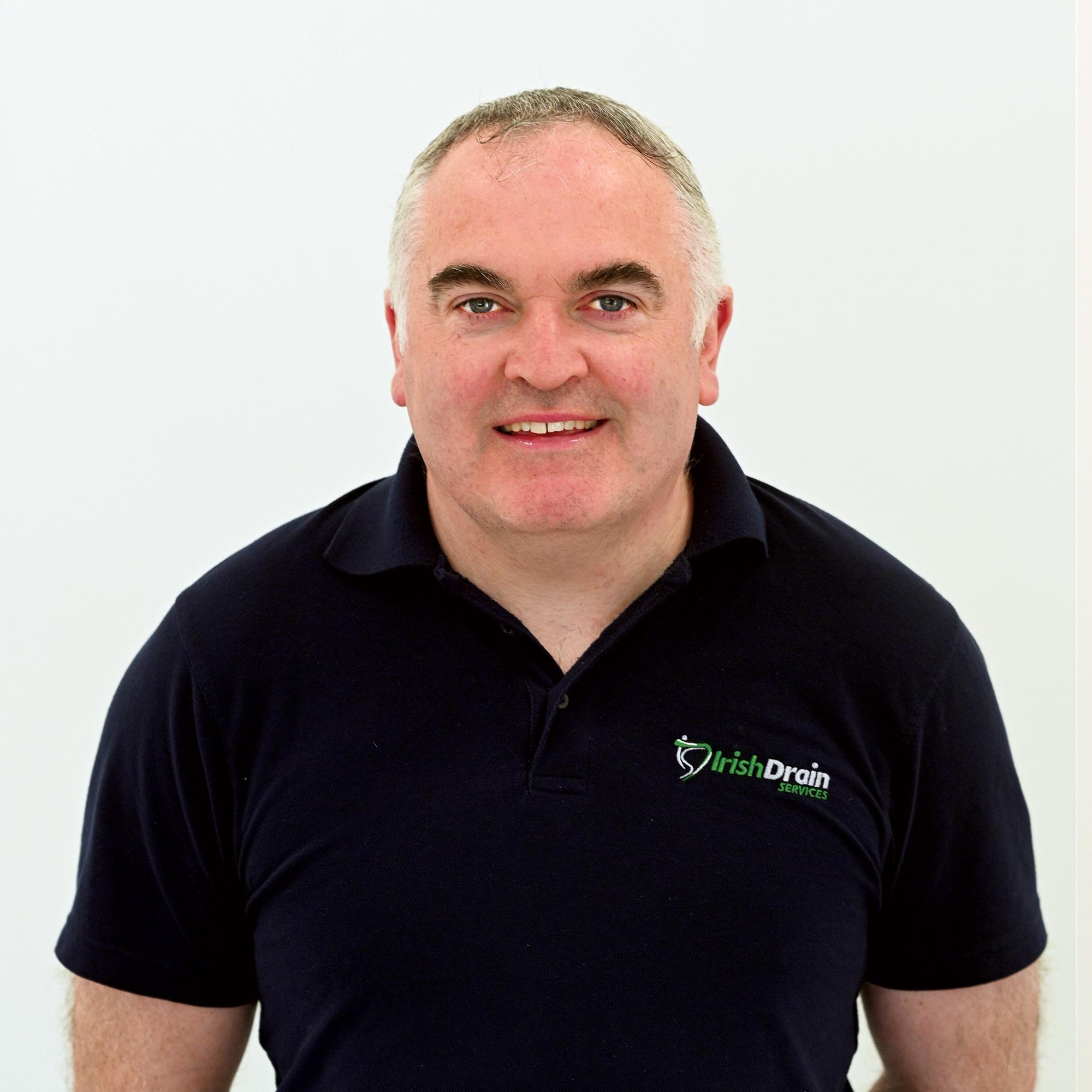 Liam Brosnan - Managing Director with Irish Drain Services